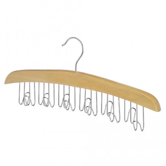 Вешалка для ремней деревянная