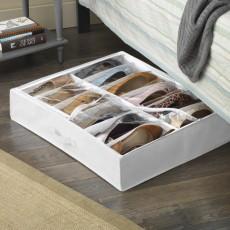 Кофр для хранения обуви под кроватью