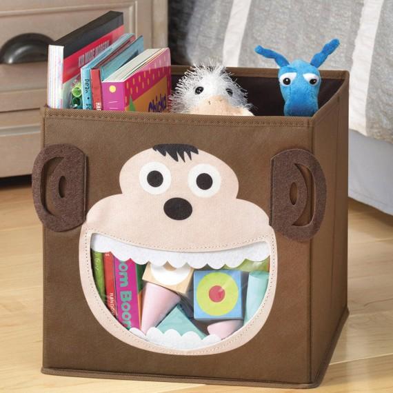 Корзина для хранения игрушек Животные