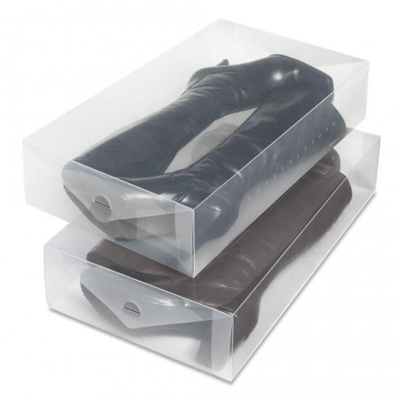 Набор пластиковых коробок для сапог