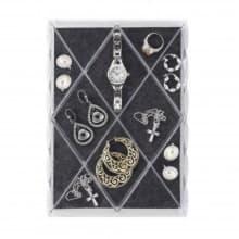 Органайзер-лоток для украшений Diamond с 12 отделениями