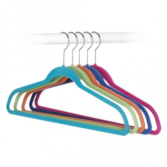 Набор из 5 разноцветных вешалок Spacemaker