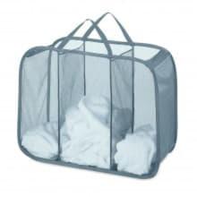 Складная корзина для белья с 3 отделениями Pop&Fold