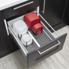 Органайзер для посуды в выдвижной ящик Peggy