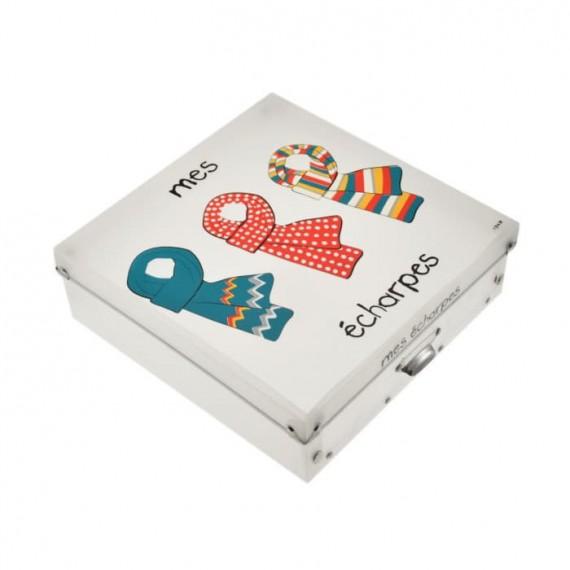 Коробка для шарфов Mes Echarpes