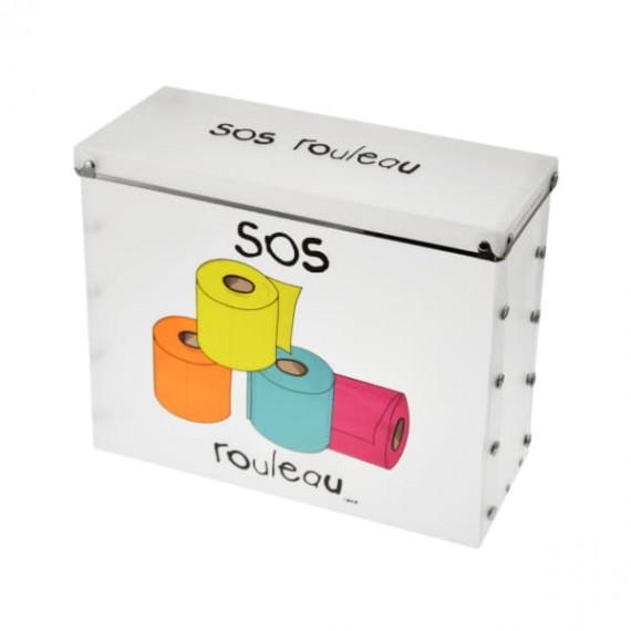 Коробка для запасных рулонов туалетной бумаги SOS Rouleau