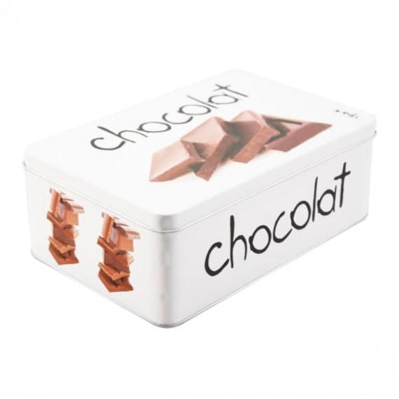 Металлический контейнер для шоколада Gourmet Chocolat