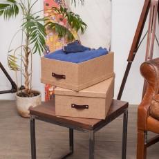 Набор из 2 коробок для хранения ULRIKA