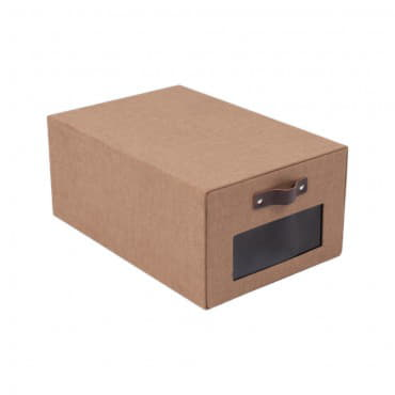 Коробка для обуви с окошком LILLY