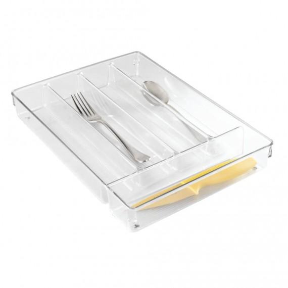 Органайзер в выдвижной ящик для столовых приборов с 4 отделениями Linus