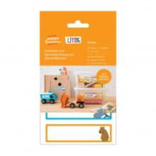 Этикетки для контейнеров с игрушками малые