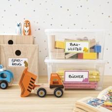 Этикетки для контейнеров с игрушками большие