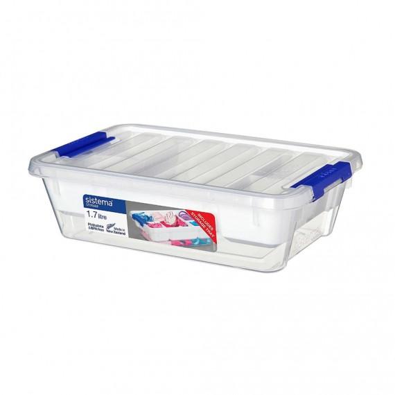 Контейнер для хранения с органайзером низкий 1,7 л