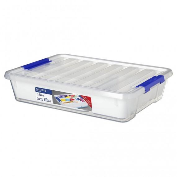 Контейнер для хранения с органайзером низкий 3,8 л