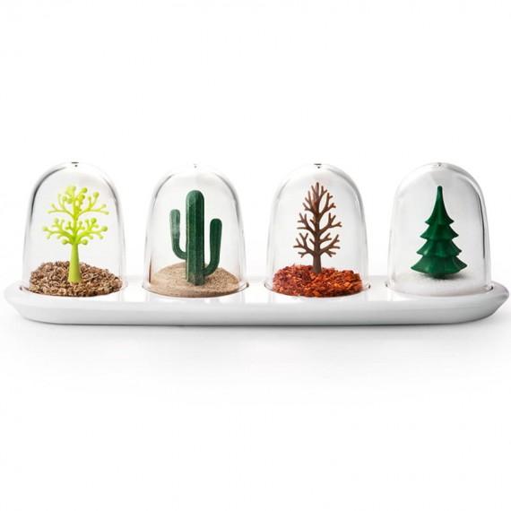 Набор емкостей для специй Four Seasons