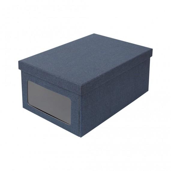 Коробка для хранения с окошком BERTIL
