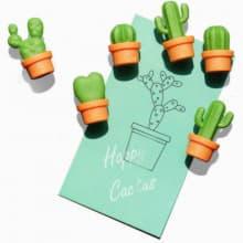 Магниты Cactus, 6 шт