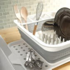 Складная сушка для посуды