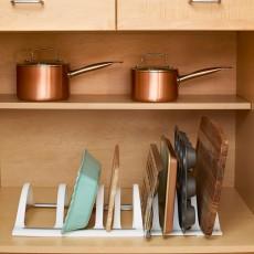 Раздвижной органайзер для посуды