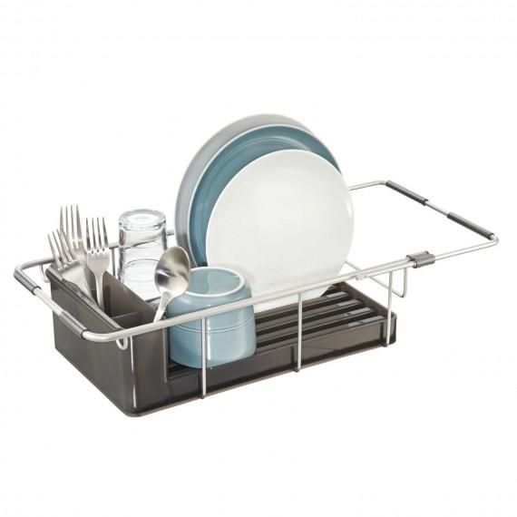 Раздвижная сушилка для посуды в раковину