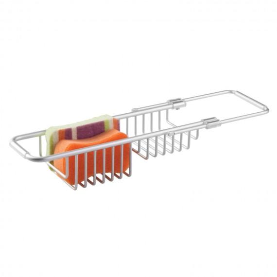 Раздвижной органайзер-сушилка для раковины