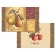 Набор сервировочных салфеток 4 шт Pear-Apple