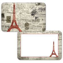 Набор сервировочных салфеток 4 шт Vintage Paris