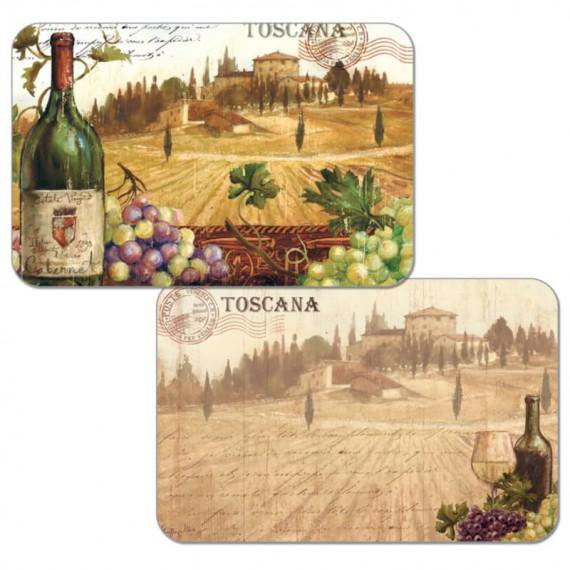 Набор сервировочных салфеток 4 шт Toscana Wine