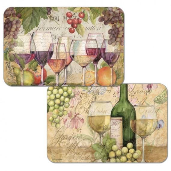 Набор сервировочных салфеток 4 шт Wine Country