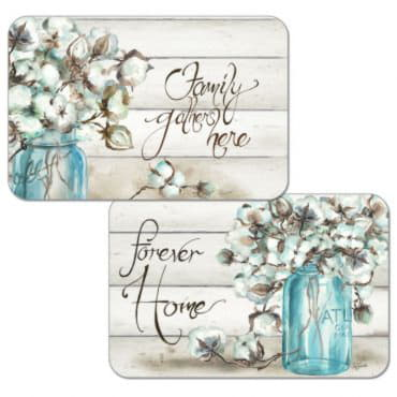 Набор сервировочных салфеток 4 шт Cotton Flowers