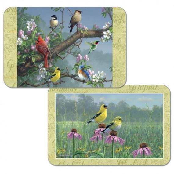 Набор сервировочных салфеток 4 шт Birds