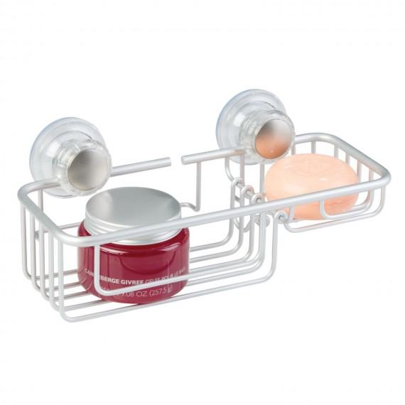 Настенная корзина для ванной на присосках Metro