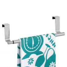 Раздвижной держатель для полотенец на дверцу шкафа