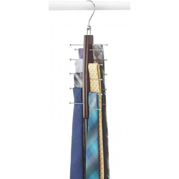 Деревянная вешалка для галстуков Cherry