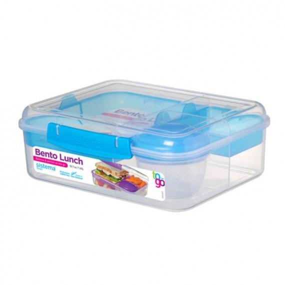 Контейнер двухуровневый с разделителями Bento Lunch To Go 1,65 л