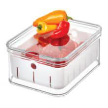 Малый контейнер Crisp  с крышкой и съемным дном-корзиной