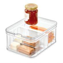 Маленький контейнер Crisp с 2 отделениями и крышкой