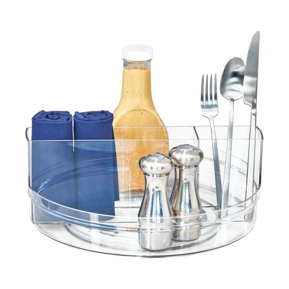 Круглый вращающийся ораганайзер для столовых приборов Crisp