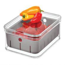Малый контейнер Crisp grey со съемным дном-корзиной