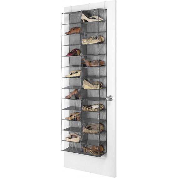 Подвесной кофр для обуви на дверь с 26 отделениями