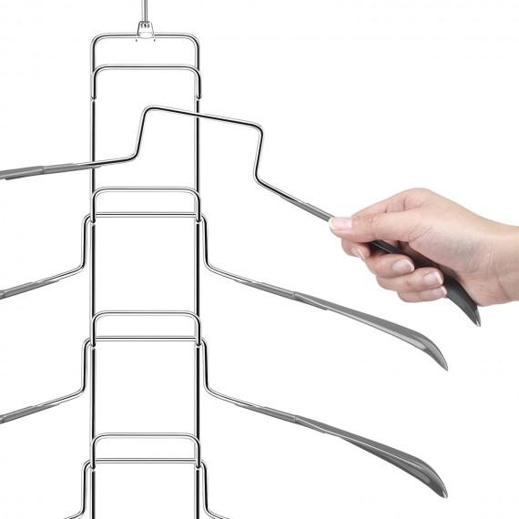 5 уровневая вешалка для рубашек и блузок