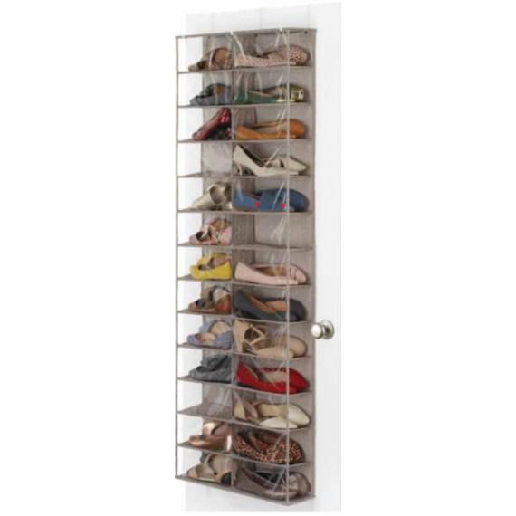 Большой подвесной кофр для обуви на дверь Canvas
