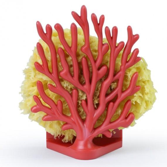 Держатель для губки и мочалки Coral Sponge