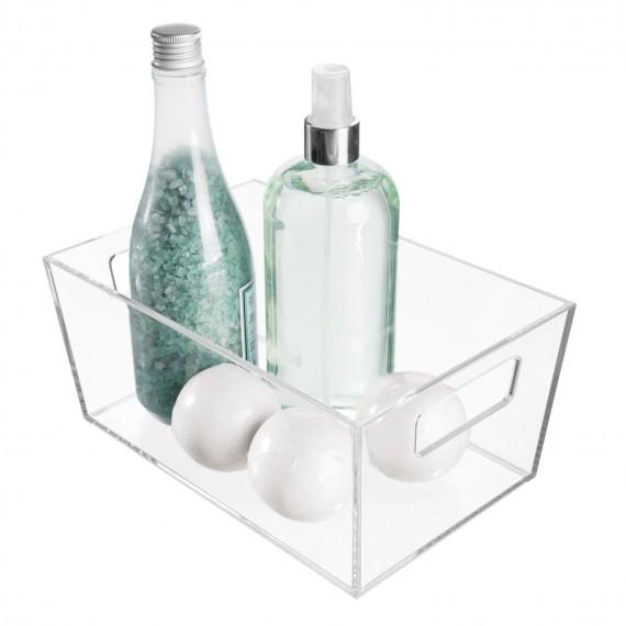 Прозрачная корзина для хранения Clarity Vanity