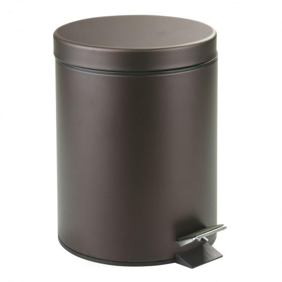 Металлическое ведерко для мусора