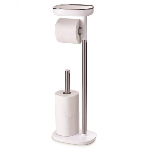 Держатель для туалетной бумаги с подставкой EasyStore