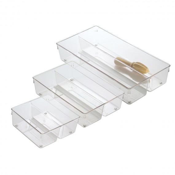 Глубокий двойной органайзер-лоток для кухонных ящиков Linus