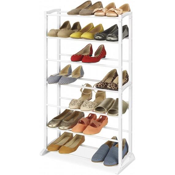 Высокая полка для обуви, 7 ярусов