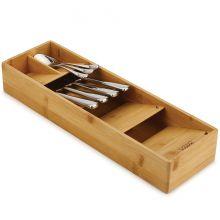 Органайзер для столовых приборов из бамбука DrawerStore Bamboo