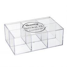Бокс для чайных пакетиков Weston прозрачный